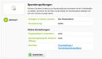 FundraisingBox_Spendenquittungen_Erweiterung_aktiv