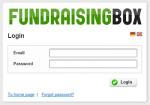 FundraisingBox_Login-Englisch