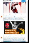 Tweet sporthilfespiele_FundraisingBox by Wikando