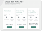 ForTomorrow Klima Abos FundraisingBox