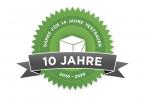 Logo 10 Jahre FundraisingBox by Wikando