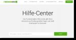 Screenshot Hilfecenter FundraisingBox