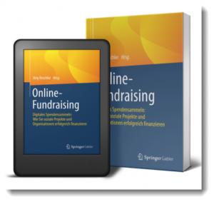 Screenshot des Buches Online-Fundraising von Jörg Reschke