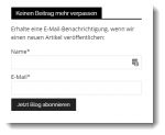 Fundraising mit Blog Beispiel Call to Action
