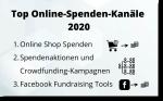 Top Online-Spenden-Kanäle