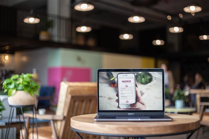 MacBook Pro Screenshot Fundraising Kampagne